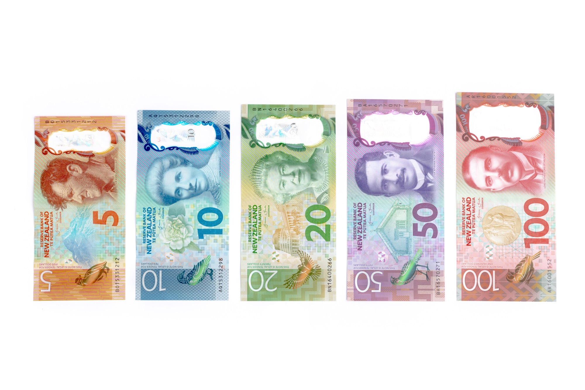 Currency in New Zealand - Banknotes