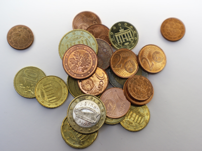 Euro Coins are part of the French currency.