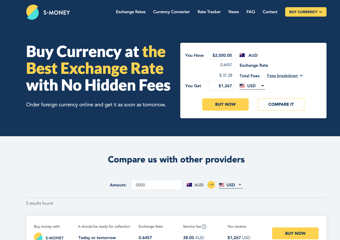 S Money offer the best exchange rates for currency exchange Adelaide