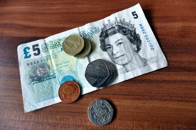 UK currency consists of banknotes and coins