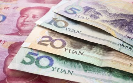 Chinese Yuan Renminbi notes