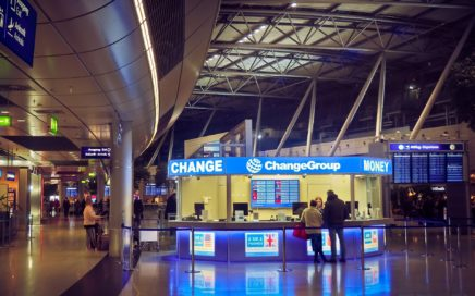 Sydney Airport currency exchange