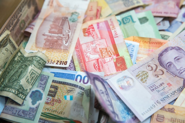 foreign exchange currency banknotes