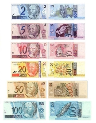 Brazil's currency is called Real.