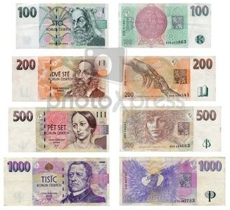The official currency of Czech Republic is the Koruna.