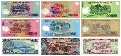 Vietnamese currency is the Vietnamese Dong.