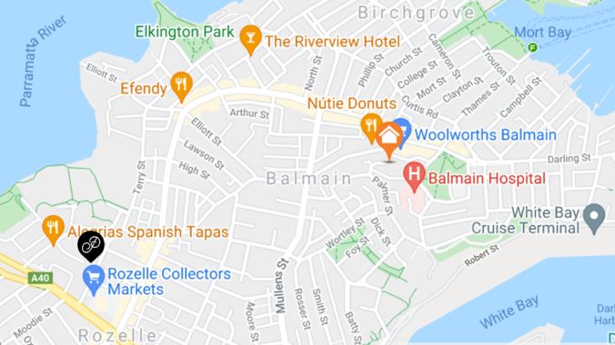Pick up currency exchange in Balmain - Where to collect foreign currency in person