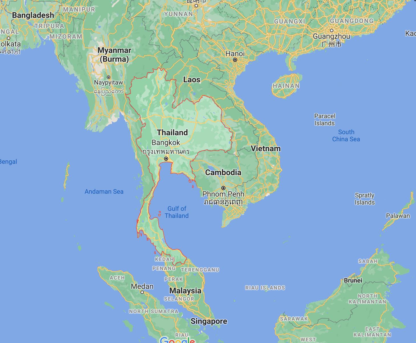 Where can I use my Thai Baht?