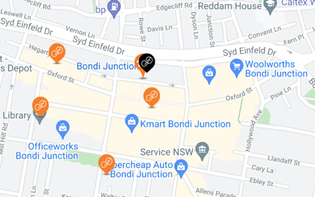Pick up currency exchange in Bondi Junction - Where to collect foreign currency in person