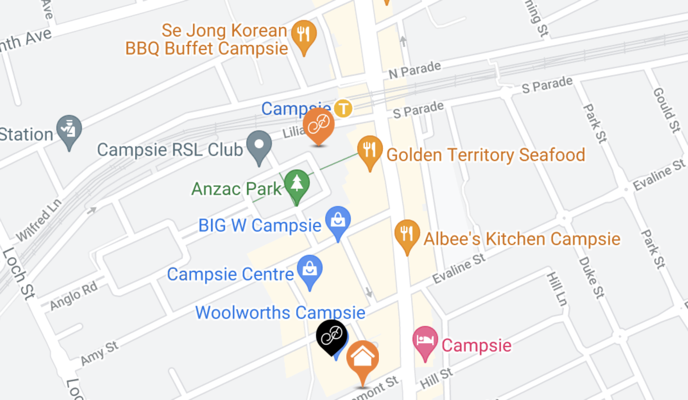 Currency Exchange in Campsie - Where to collect foreign currency in person