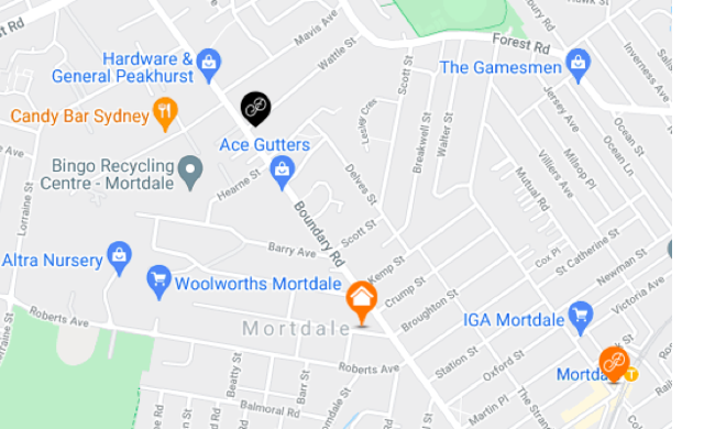 Pick up currency exchange in Mortdale - Where to collect foreign currency in person