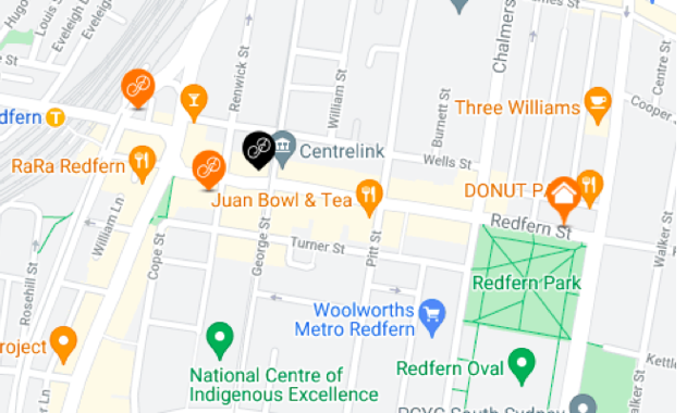 Currency Exchange in Redfern - Where to collect foreign currency in person