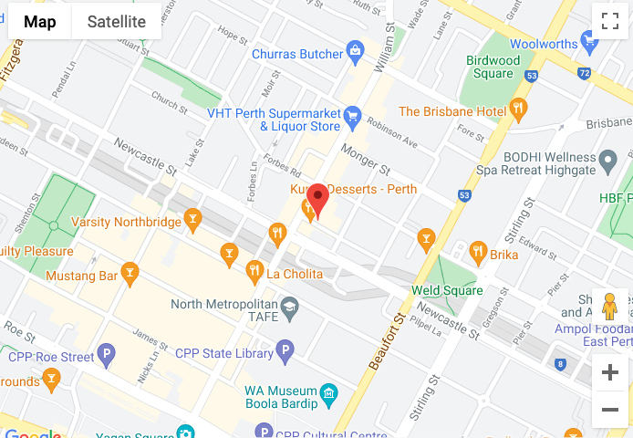 red rate location in perth