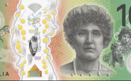 Australian new 100 dollar bills
